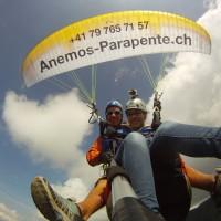 offrir un vol tandem parapente en suisse